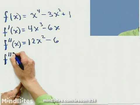 Calculus: Higher-Order Derivatives, Linear Approx
