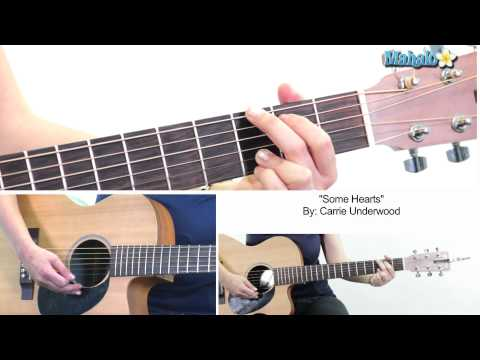 "How to Play "" Some Hearts"" by Carrie Underwood on Guitar"