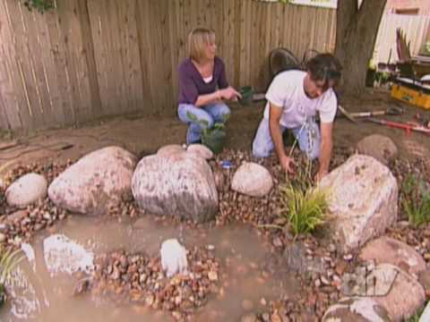 How to Build a Water Feature-DIY