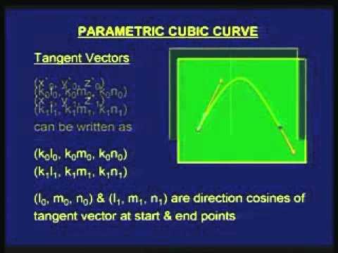 Lec-45 Parametric Cubic Curve
