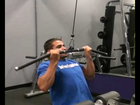 Lat Pull Down Supine Grip Front : BeYourTrainer.com