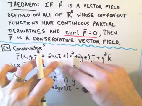Curl and Showing a Vector Field is Conservative on R_3