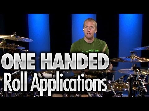 One Handed Roll Applications - Drum Lessons