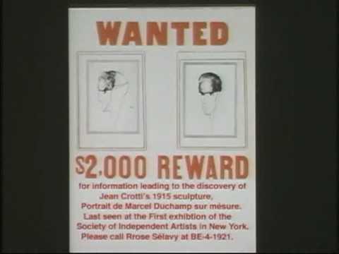 Pt 1 - Conservation Panel: Duchamp Portraits by Jean Crotti