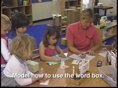 Using a word box