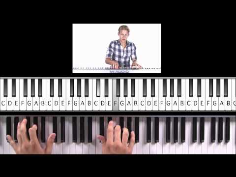 "How to Play ""Somebody to Love"" by Queen on Piano (Practice Cover)"