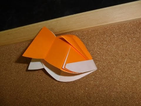 Daily Origami:  272 - Goldfish