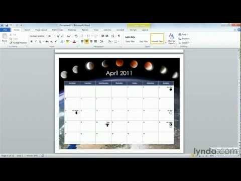 How to use Microsoft Word templates   lynda.com tutorial