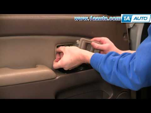 How To Install Replace Inside Door Handle Toyota 4Runner 96-02 1AAuto.com