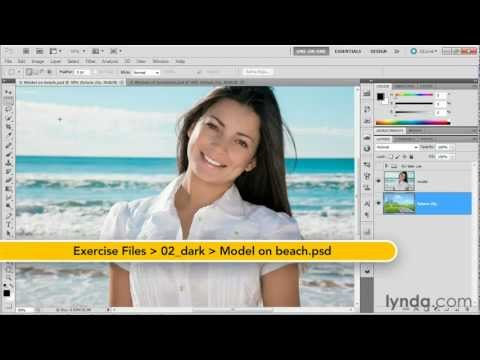 Photoshop tutorial: How to create a contrast mask   lynda.com
