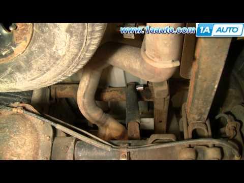 How To Install Replace Rear Shocks Chevy Silverado GMC Sierra 00-06 1AAuto.com