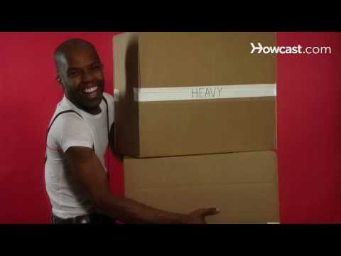 Quick Tips: How to Carry a Heavy Cardboard Box