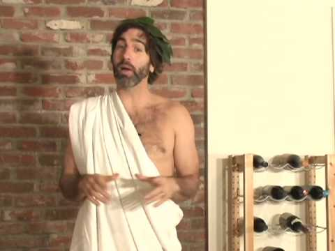 How to Make a Toga Out of a Bed Sheet Video - About.com
