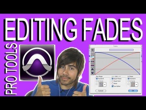 Editing Fades - Pro Tools 9