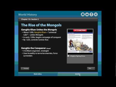 Review  Chapter 12 Section 2   The Mongol Conquests