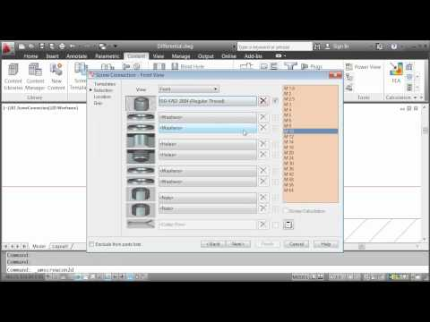 Content Libraries — AutoCAD Mechanical 2012