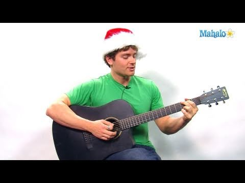 How to Play We Wish You a Merry Christmas on Guitar