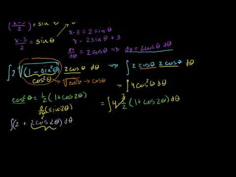 Integrals: Trig Substitution 3 (long problem)
