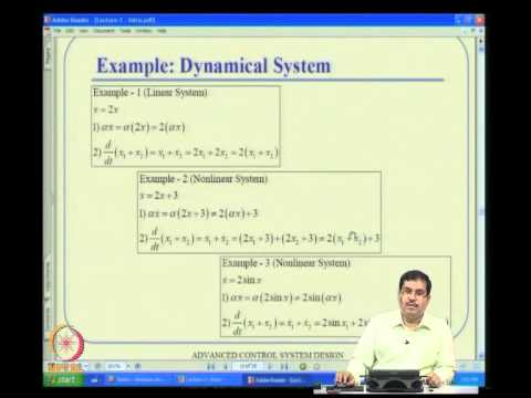 Mod-01 Lec-01 Introduction and Motivation for Advanced Control Design
