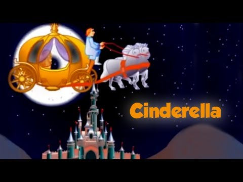Fairy Tales - Cinderella - Kids Animation Cartoon Stories