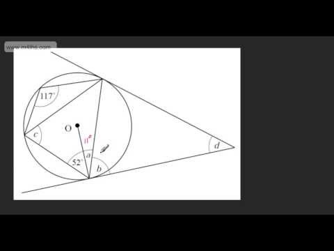 30 Minutes of Circle Theorem REVISION (GCSE maths tutorial and examples)