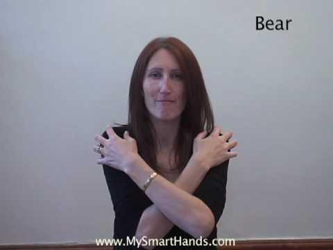 bear - ASL sign for bear