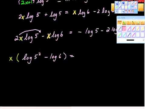 Using the Change of Base Formula.