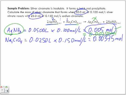 Stoichiometry in Aqueous Solutions Part 5