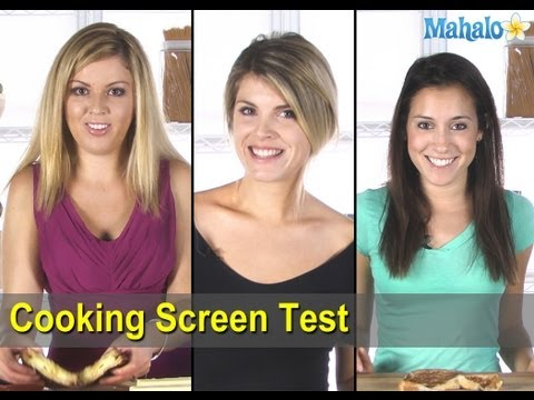 Cooking Screen Test