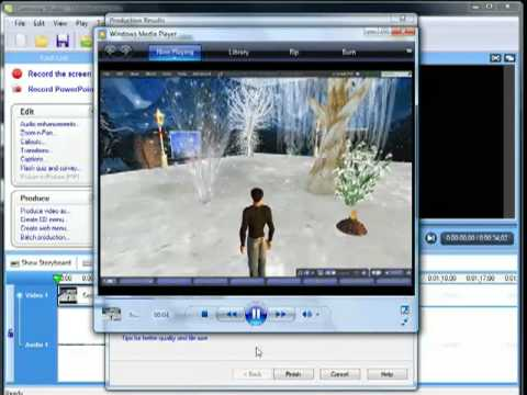 Second Life: Using Fraps & Camtasia to make Machinimas