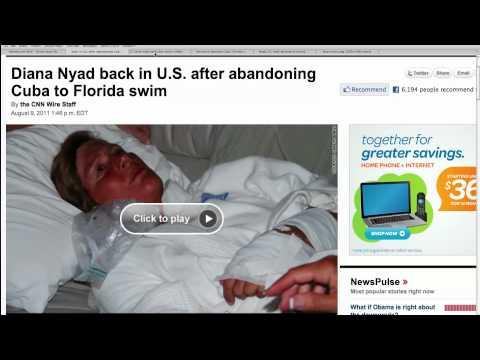 Diana Nyad Abandons Swim