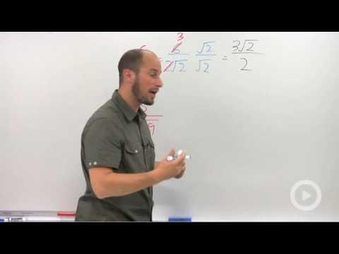 Algebra 2 - Dividing Complex Numbers