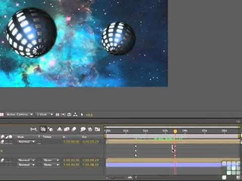 After Effects CS5.5 Animating Spheres - Tutorial