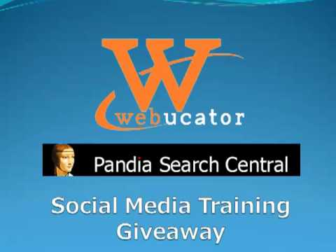Social Media Training Giveaway Winner