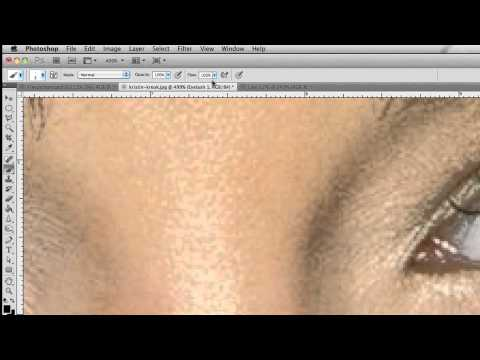 Photoshop Tutorial - Fake Eyelashes