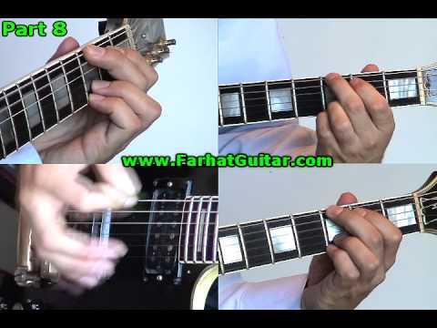 Paradise City - Guns and Roses - Guitar Cover part 8 www.FarhatGuitar.com