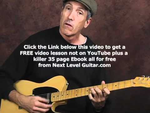 Learn more Jump Swing Boogie rhythms techniques cool chords electric guitar lesson part 2