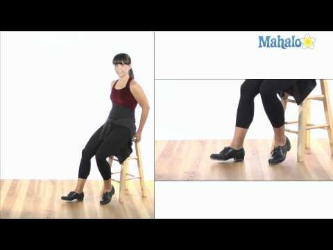 How to Do Double Pull Backs in Tap Dance