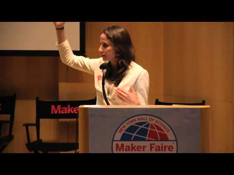 Nora Abousteit, Making is the New Sex - and the New Economy at World Maker Faire 2012