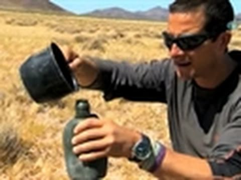 Man vs. Wild- Pee and Plastic