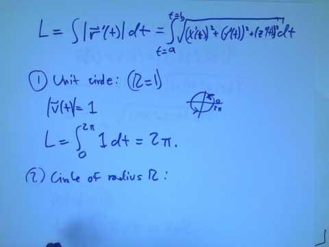arc length curvature acceleration 1