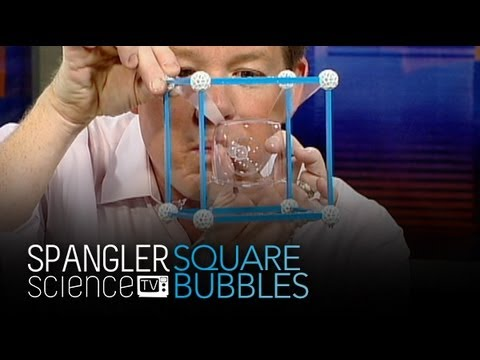 Square Bubbles - Cool Science Experiment