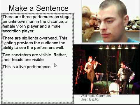 Learn English Make a Sentence and Pronunciation Lesson 63: Live Music
