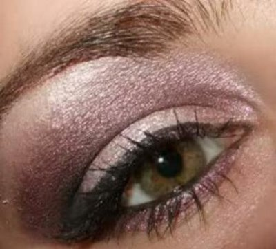 Glamorous Purple Smoky eye make up tutorial
