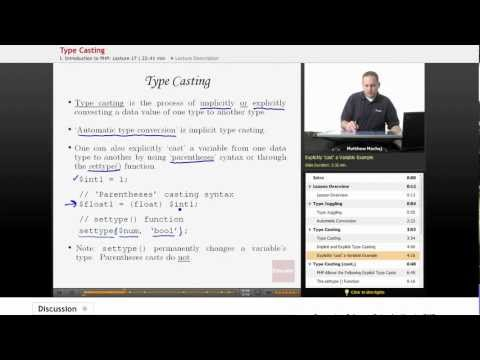 PHP: Type Casting