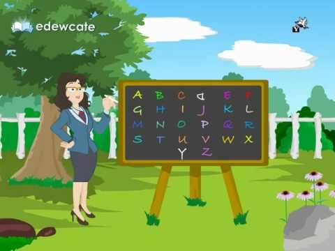 Edewcate english rhymes - The English Alphabet (ABC) song