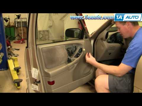 How To Install Replace Door Panel Chevy Malibu 97-03 1AAuto.com