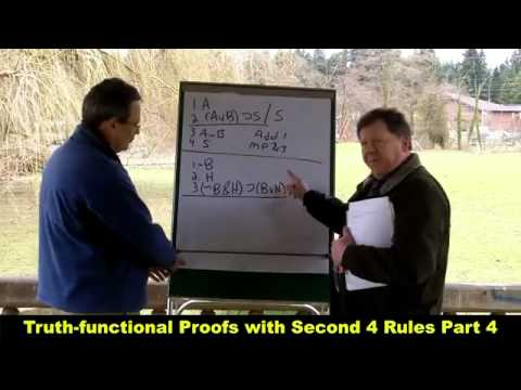 Truth-functional Proofs with Second 4 Rules Part 4_HD.mp4 - YouTube.mp4