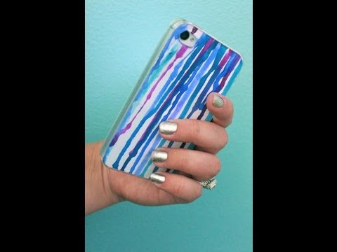 How To Make Altered Phone Case Inserts