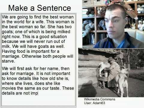 154: How to Find a Wife #4: Ask the Woman Milking a Goat
